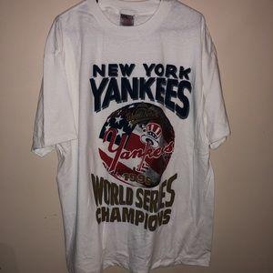 Shirts - Vintage Yankees 1996 World Series Champions Tee